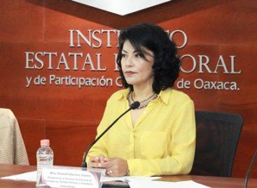 Presenta IEEPCO informe de organizaciones que buscan constituirse como partidos políticos