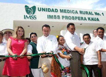 Amplía IMSS 40 por ciento las clínicas rurales para llevar salud a comunidades marginadas