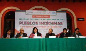 La CNDH llama a autoridades federales y estatales a emitir una ley específica sobre la consulta previa.