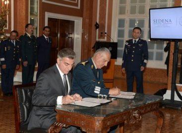 Firman Secretaría de la Defensa Nacional y Gobierno de Puebla convenio de coordinación