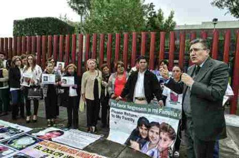 Expresa ombudsman solidaridad y acompañamiento a familiares de víctimas de desaparición
