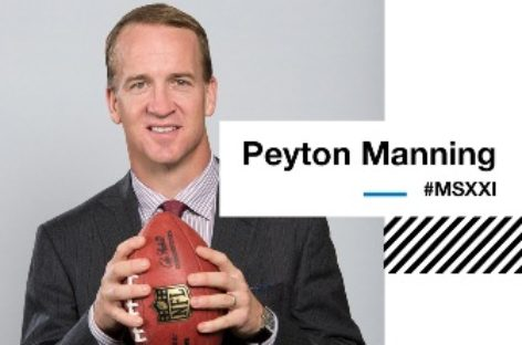 Recibirá México Siglo XXI a Payton Manning, ex quarterback