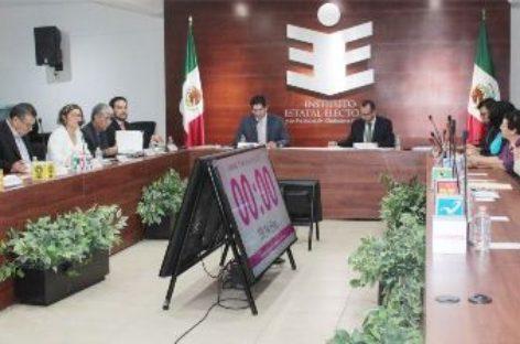 Aprueba IEEPCO reglamento de quejas y denuncias para las elecciones de 2018