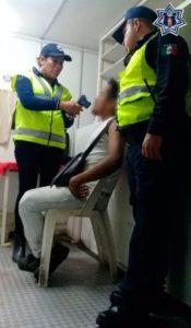 Aplica SSPO 422 pruebas de alcoholemia y arresta a 180 conductores.