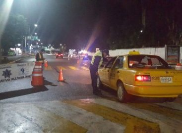 Implementan 17 operativos Alcoholímetro durante el mes de julio en Oaxaca