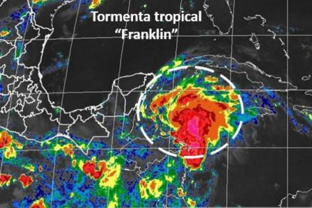 "Tormenta Tropical ""Franklin"""