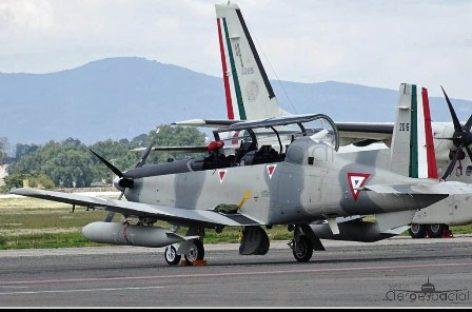 Sufren aeronaves militares accidente en el Estado de México