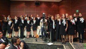 Toma de protesta de la mesa directiva de la organización Mujeres de México y el Mundo A.C.