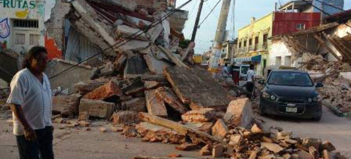 Registradas mil 067 réplicas del terremoto de 8.2 grados Richter: CEPCO