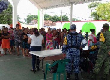 Continúa el apoyo del Ejército y Fuerza Aérea a la población civil por el sismo