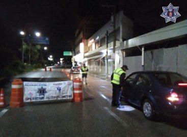 Arrestados 31 conductores por conducir en estado de ebriedad en Oaxaca y Tuxtepec
