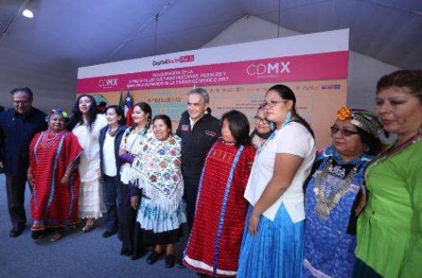 Instituye Gobierno de la CDMX Fiesta de las Culturas Indígenas