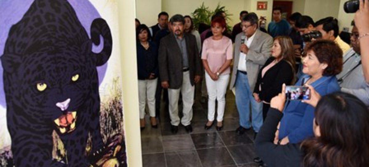 Artistas plásticos oaxaqueños se unen por la preservación del jaguar