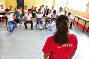 Cada año, se invita a participar a las escuelas de preescolar, primaria y secundaria públicas y privadas del país.
