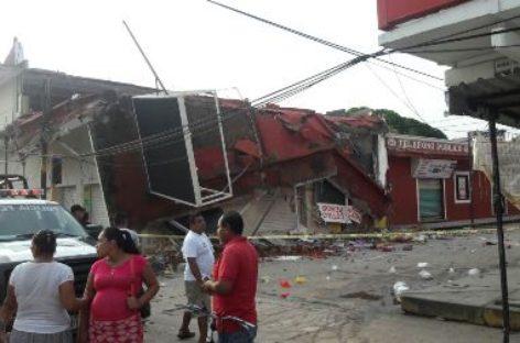 Aumenta a tres el número de personas muertas por sismos en Oaxaca