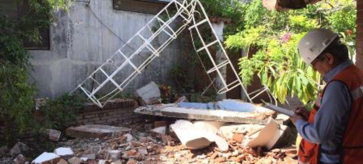 Trabajan empresas eólicas para restablecer operaciones tras el sismo