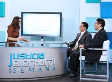 Justicia Electoral a la Semana, espacio que informa acontecimientos político-electorales del país