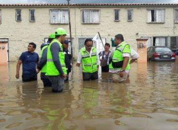 Aplican Plan DN-III-E en zonas dañadas de Santa Cruz Xoxocotlán, Oaxaca