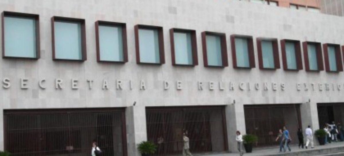 Establece Cancillería alianzas para facilitar el envío de ayuda desde Estados Unidos y Canadá