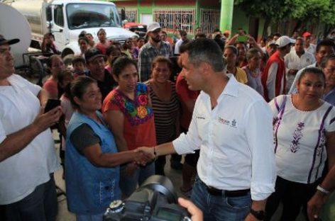Refrendan gobiernos Estatal y Federal compromiso para reconstruir Santo Domingo Petapa