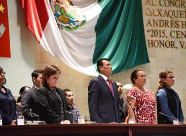 Se solidariza Congreso de Oaxaca con víctimas del terremoto del 19 de septiembre