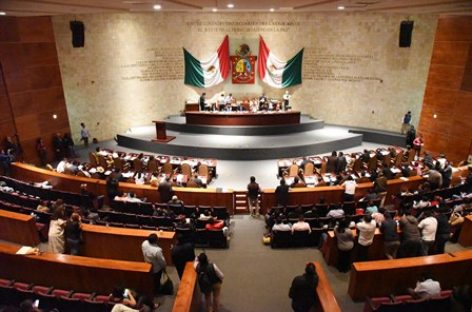 Congreso autoriza contratación de financiamiento al ejecutivo de Oaxaca