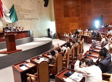 Aprueba Congreso de Oaxaca que IEEPCO aliste proceso electoral de 2018
