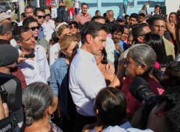¡Oaxaca es México y México es Oaxaca!, afirma Peña Nieto en su segunda visita al Istmo