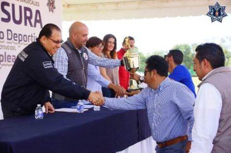 """Clausura Seguridad Pública 5º Torneo Deportivo con motivo del """"Día del Empleado"""""""