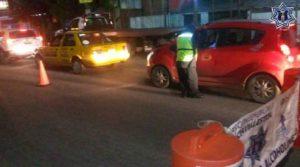 Los conductores cumplen 24 horas de arresto inconmutable.