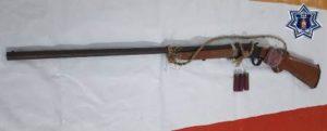 Escopeta calibre 16.
