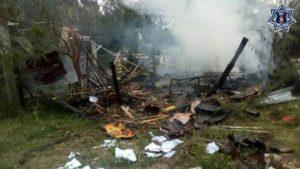 Se activó el Plan Estatal de Auxilio a la Población para controlar y sofocar el incendio.