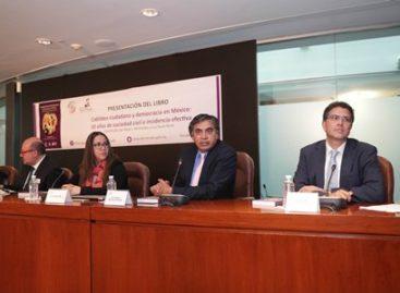 """Presentan libro """"Cabildeo ciudadano y democracia en México: 10 años de sociedad civil e incidencia efectiva"""""""