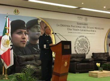 """Realizan seminario """"La Defensa Nacional del Estado Mexicano: Una Visión Geoestratégica"""""""