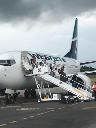 Apertura WestJet su ruta Vancouver-Huatulco-Vancouver