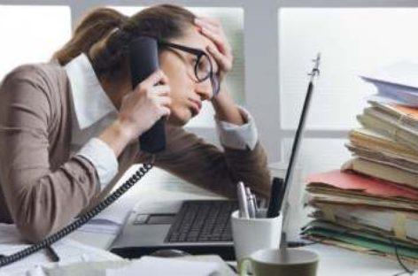 Estrés laboral: principal enfermedad de ausentismo en el trabajo
