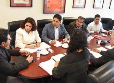 Reciben diputados a candidatos a integrar Órgano de Fiscalización del Estado de Oaxaca