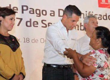 Anuncian medidas extraordinarias a favor de derechohabientes damnificados por sismo