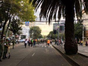 """El sector privado se ha sumado a los esfuerzos para recaudar recursos destinados a la reconstrucción, a través del fideicomiso """"Fuerza México""""."""