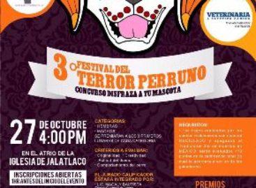 "Realizarán Tercer Festival del Terror Perruno ""Disfraza a tu Mascota"" en Oaxaca"