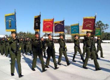 Se gradúan 735 alumnos de la Escuela Militar de Sargentos antigüedad 2017