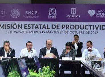 Alienta gobierno federal reactivación económica de Morelos tras el sismo del 19 de septiembre