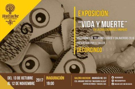 """Exposición y venta """"Vida y muerte, en la Civilización del Anáhuac"""""""