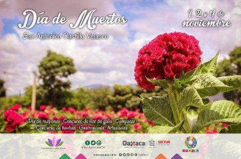 """Invitan a celebrar """"Día De Muertos"""" en San Antonino Castillo Velasco, Oaxaca"""