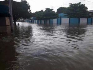 Inundaciones en Loma Bonita