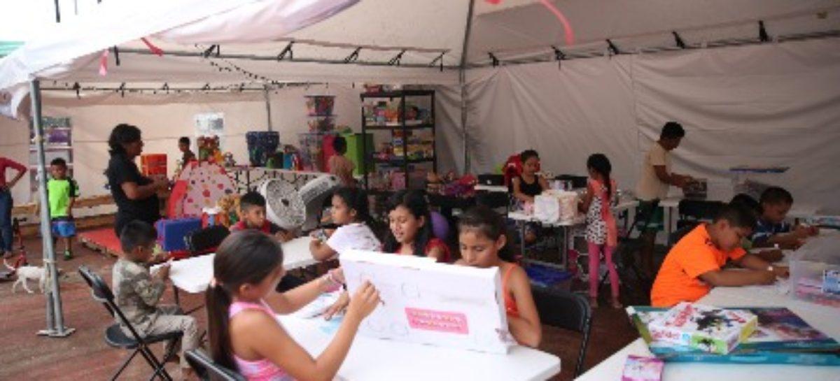 Protección y cuidado de la niñez, prioridad en albergues de Oaxaca: Calzada Rovirosa