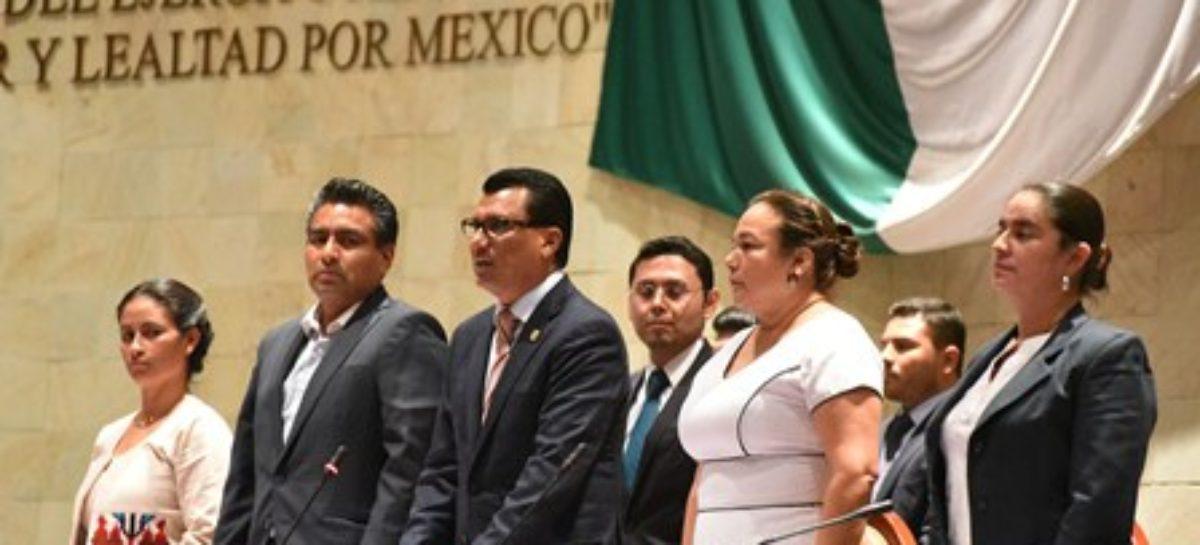 Instala 63 Legislatura de Oaxaca octavo Periodo Extraordinario de Sesiones