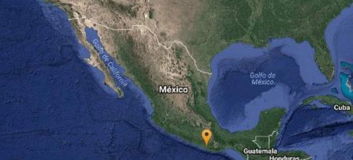 Sin daños por sismo de 5.1 grados con epicentro en Pinotepa Nacional, Oaxaca