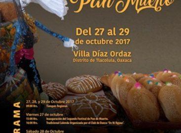 Segundo Festival del Pan de Muerto en Villa Díaz Ordaz, Oaxaca