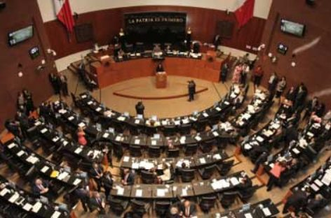 Recibe Senado de la PGR informe sobre el Sistema Penal Acusatorio